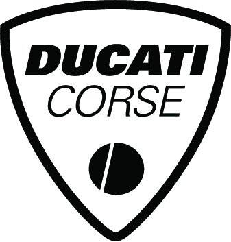 Ducati Corse Die Cut Sticker: 4 inch