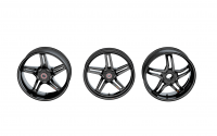 BST RAPID TEK 5 SPLIT SPOKE WHEEL SET (6 inch rear