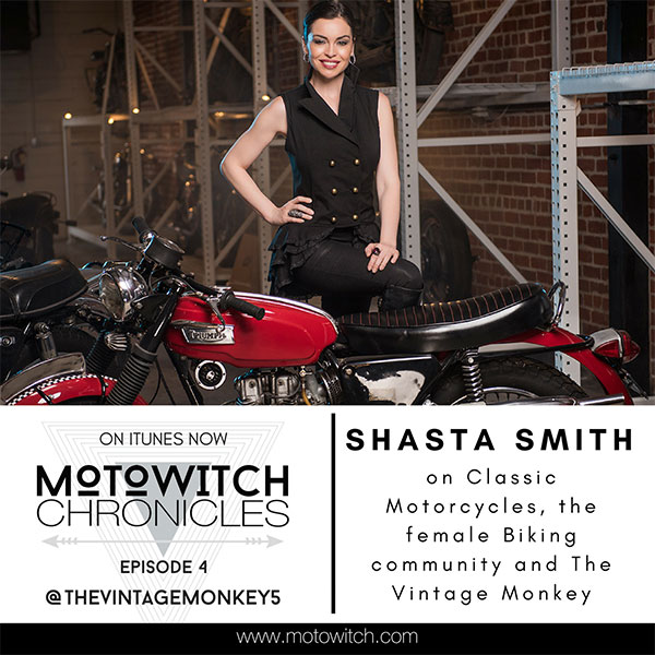 SHASTA SMITH, Classic Bikes, Business and The Vintage Monkey