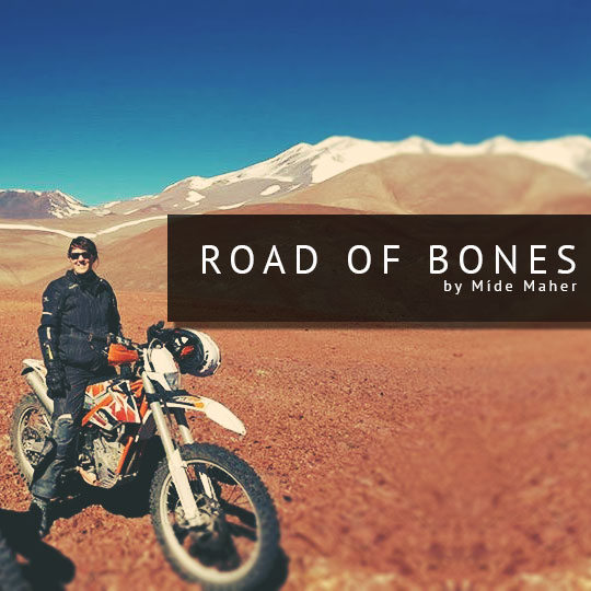 female motorcycle adventure rider