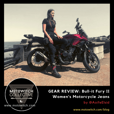 Review Bull-it Fury II women's motorcycle jeans