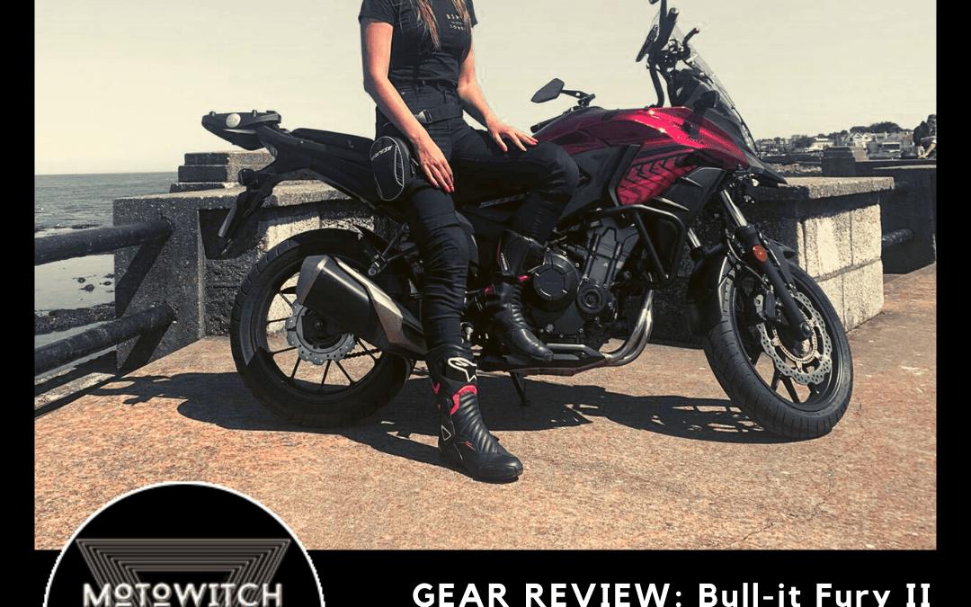 Review Bull-it Fury II women's motorcycle jeans