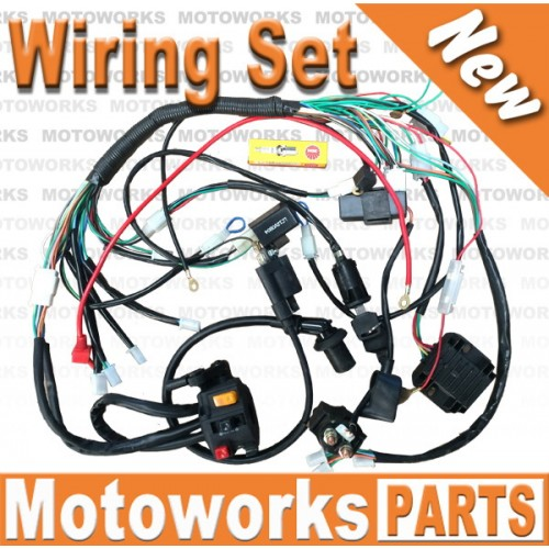 Electrics Wiring Harness GY6