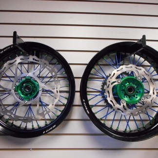 Supermoto Wheel Set