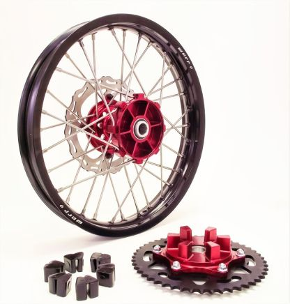 Parts for Racing Dirt Supermoto Bikes