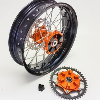 Warp 9 Rear Supermoto Wheel (Cush Hub)
