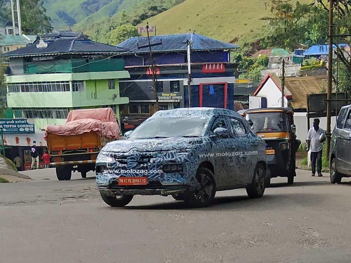 Renault Kiger Spotted on roads!