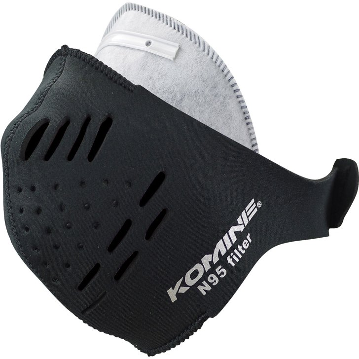 AK-098 Neoprene N95 Filter Mask Short