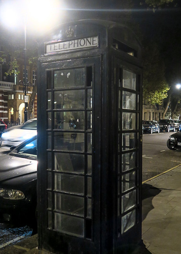 TARDIS sighted in London