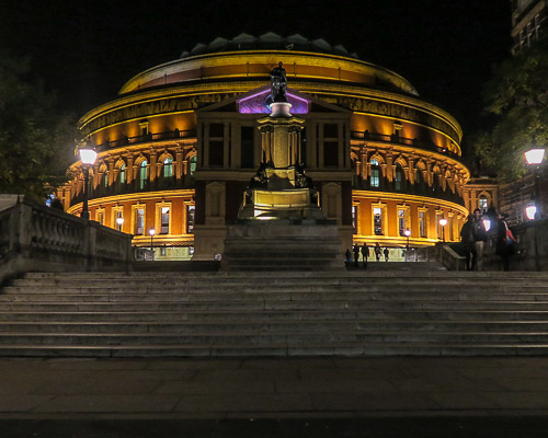 Royal Albert Hall, a famous concert hall in London, England