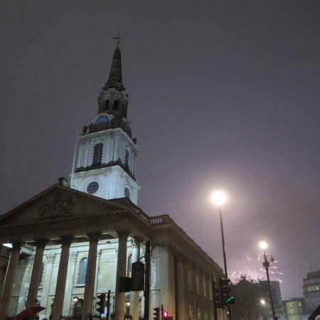 Church of St. Martin in the Fields, London