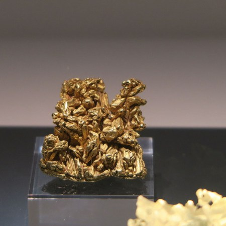 Geology collections include this sample of native gold, Natural History Museum