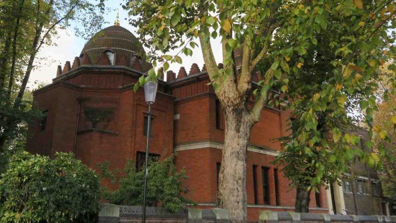 Leighton House in the Holland Park neighbourhood of London