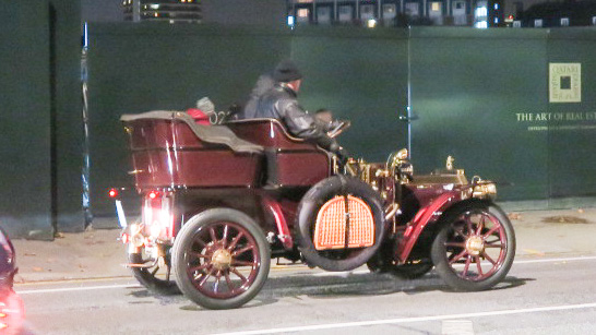 Antique car in Chelsea