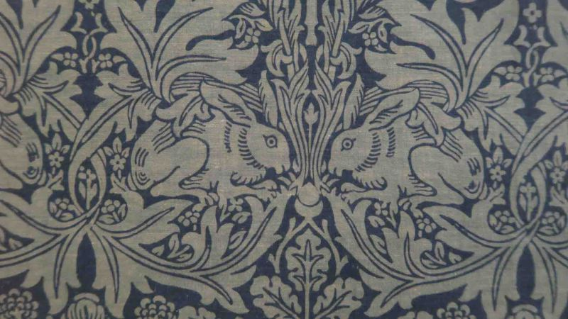 Brother Rabbit wallpaper from William Morris