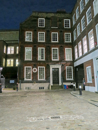Dr. Johnson's House at 17 Gough Square, London