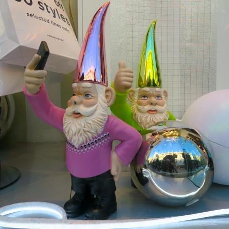 Gnomes in shiny hats