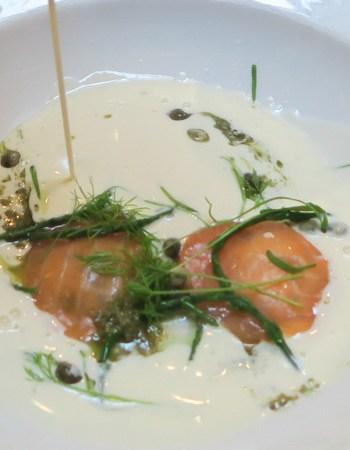 Dramatic soup, Fade Street Social, Dublin (Jill Browne)