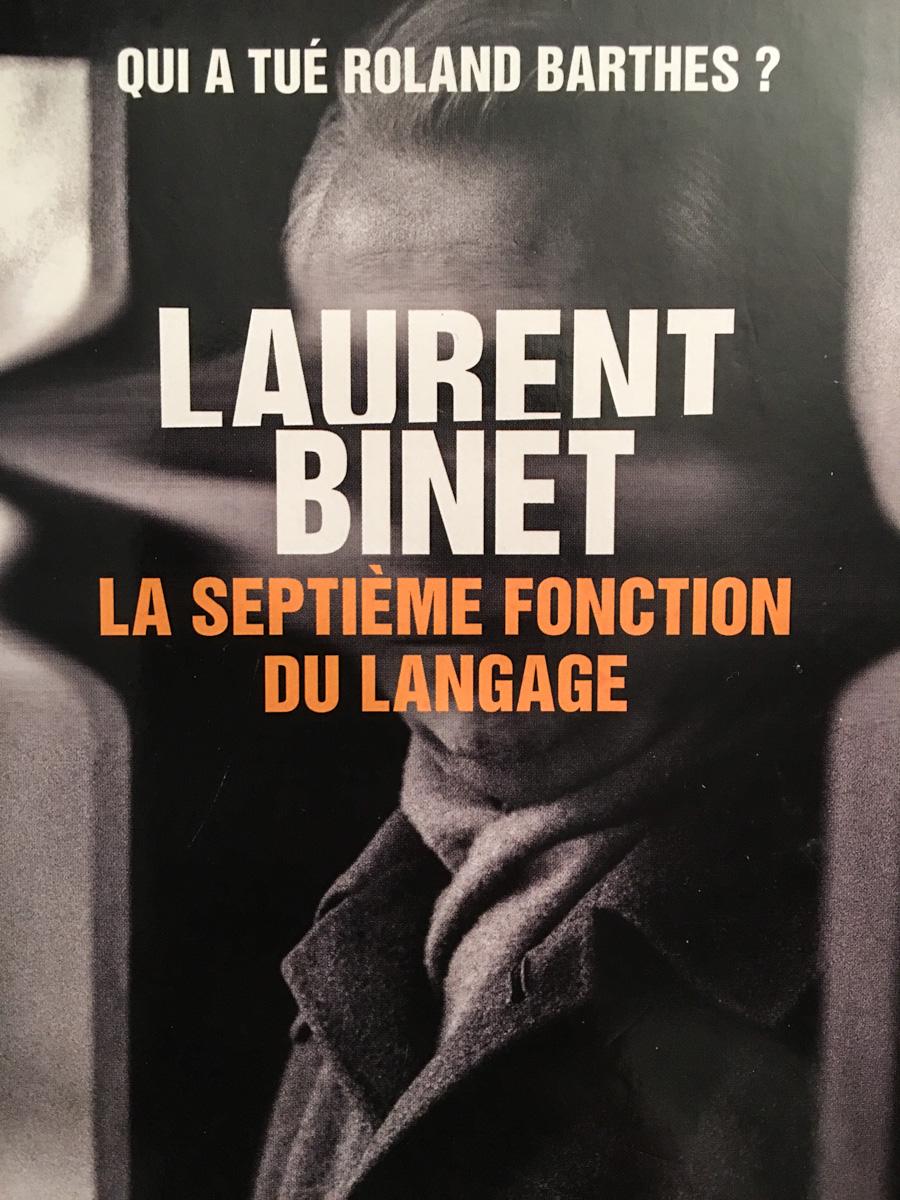 La Septième Fonction Du Langage : septième, fonction, langage, Barthes, Sucé, Foucault