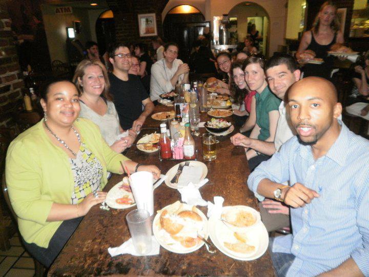 grad-students-at-dinner-aera-2011