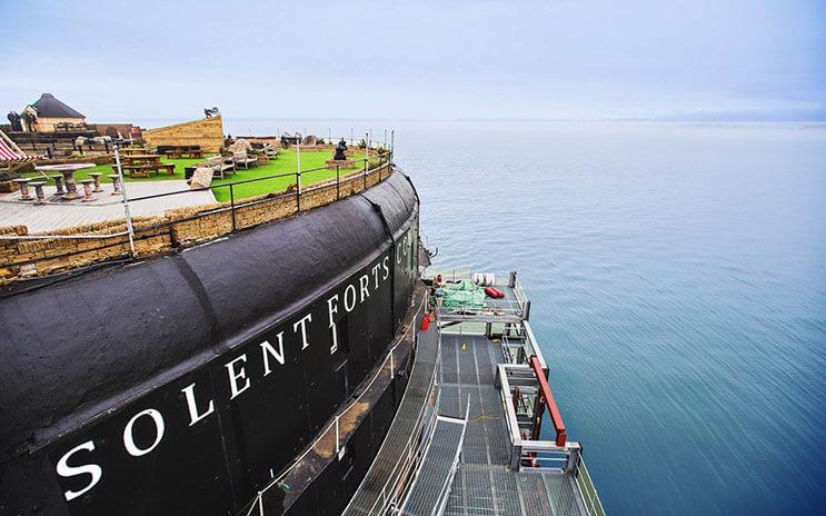 Bases marinas usadas durante la Primera Guerra Mundial ahora son parte de un lujoso hotel 8