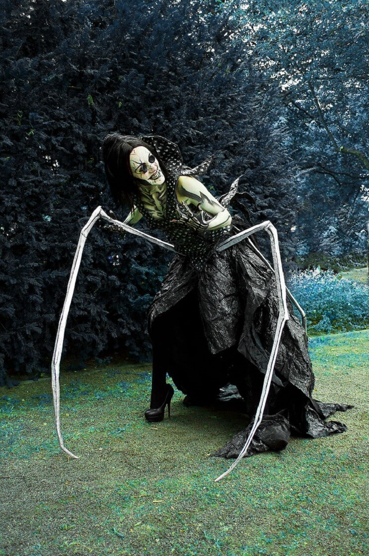 La cosplayer más aterradora del mundo basada en la película Coraline 02