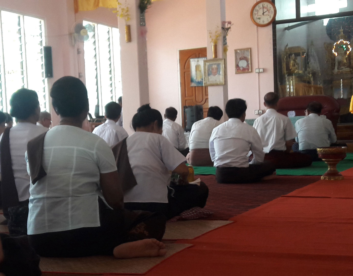 ミャンマーの瞑想センター