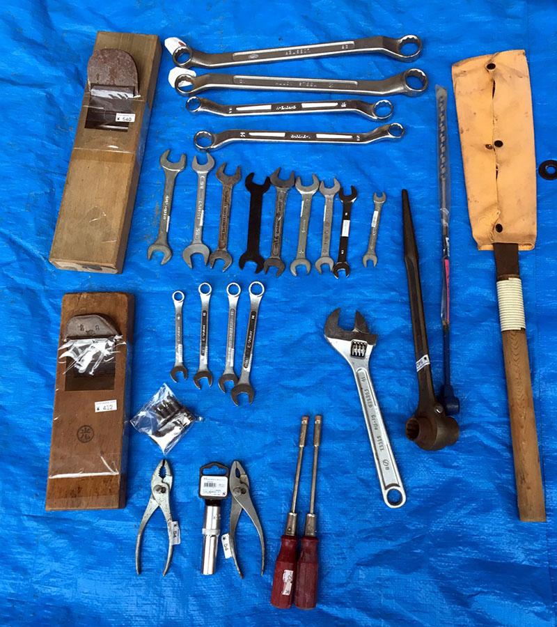 中古工具も海外で活躍しています。