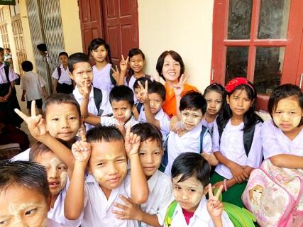 2018年7月 ミャンマー支援活動