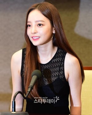 Goo Hara, the first SNS after the riot.