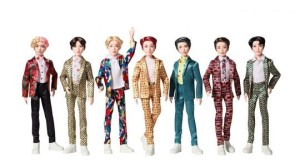 G market is going to sell a preorder for a ball-jointed doll of BTS.