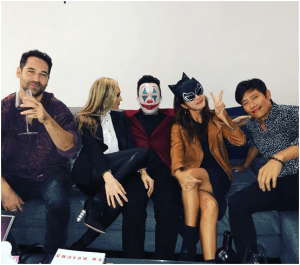 Lee Byung Hun ♥ Lee Min Jung Attends Halloween Party ... Sexy Catwoman