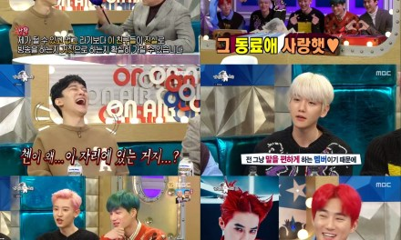 EXO's 6 members appeared on 'Radio Star'
