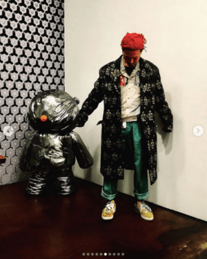 BIGBANG G-Dragon unveiled a pictorial daily life