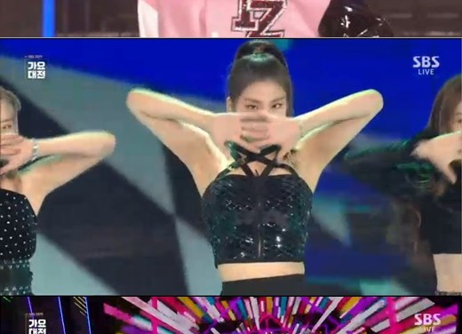 [2019 SBS Gayo Daejeon] ITZY covered TWICE's 'TT'