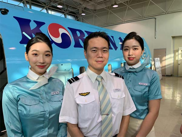 "The dream job of women in Korea is ""Air plane attendant'"