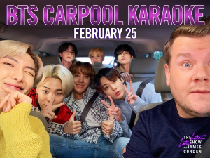 BTS to appear on 'Carpool Karaoke' at James Corden Show
