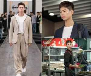 'Youth Record' Park Bo-gum's first steel released, runway overwhelming