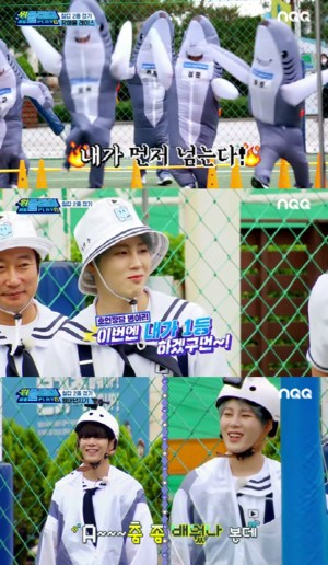 'We Play 2'Jeong Hyuk vs JR, a passion race reminiscent of a rabbit and a turtle