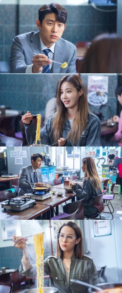 'Cheat on me, If you can' Go Jun and Yeon-woo in a ramen restaurant... Dangerous encounter?