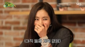 """Han Chae-ah """"I don't have any plan to have the second child"""""""