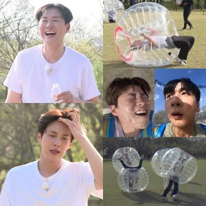 '2 Days & 1 Night' Yeon Jung-hoon, overcharging the passion for bubble soccer