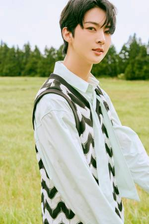 """VAV Ace, enlisted in active duty on the 10th, """"I will grow up and return"""""""