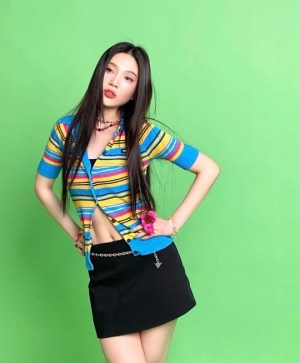 Joy, fresh visuals and figure 11 abs... 'Perfect itself'