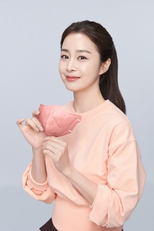 """Kim Tae-hee selected as a mask model... """"Luxurious and elegant image"""""""