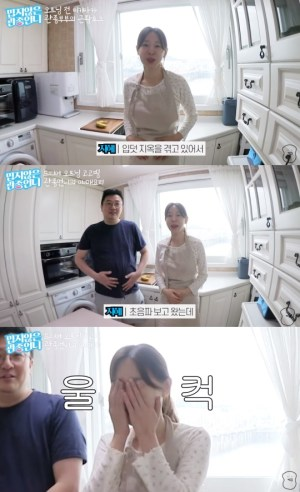 """Lee Ji-hye """"Second pregnancy, morning sickness is difficult, but I 'cryed' after seeing the ultrasound"""""""