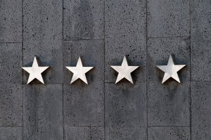 Reviews are a great way to provide social proof