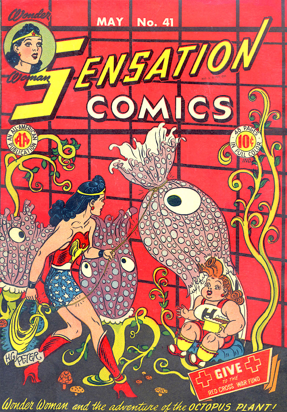 'Sensation Comics' #41, AA Comics, Art by Harry G. Peter, 1945