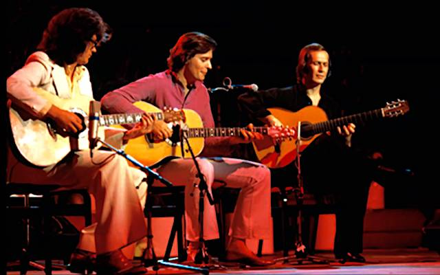 [VIDEO] John McLaughlin, Larry Coryell, Paco De Lucía Live at Royal Albert Hall: 'Meeting of the Spirits', 1979