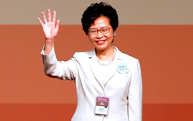 [VIDEO] No Surprise: Beijing's Pick Carrie Lam Chosen as Hong Kong Leader